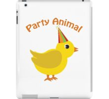 Party Animal - Chick iPad Case/Skin