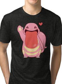 Lickitung Love Tri-blend T-Shirt