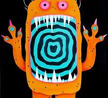 Larry the Monster by mandypantsart