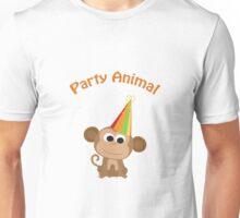 Party Animal - Monkey Unisex T-Shirt