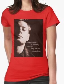 Jensen Ackles Womens Fitted T-Shirt