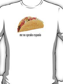 the mexican translator shirt T-Shirt