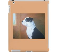 Pit Bull on watch iPad Case/Skin
