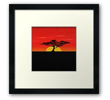 African Sky Framed Print