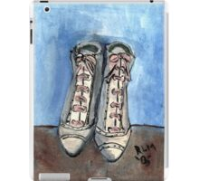 High Laced Boots iPad Case/Skin
