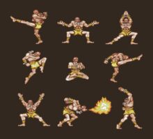 Dhalsim - Street Fighter II T-shirt by DukeJaywalker