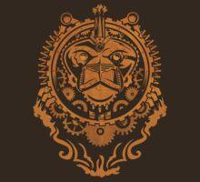 Steampunk Lion Head by Dan Simon