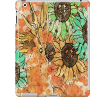 7 DAYS OF SUMMER- ART TOTES AND PILLOWS-Cockatoo BOHO ORANGE iPad Case/Skin