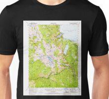 USGS TOPO Map California CA Fallen Leaf Lake 297458 1955 62500 geo Unisex T-Shirt