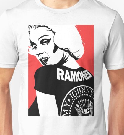 Punk Pin-Up Unisex T-Shirt