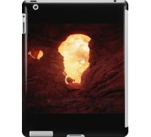 Turret Arch at sunset 2 iPad Case/Skin