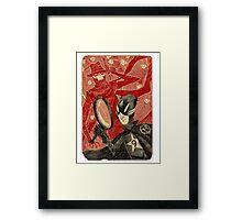 Mr. 9 and the Strange Case of the Crimson Cowl Framed Print