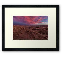 Mirador de Kari Framed Print