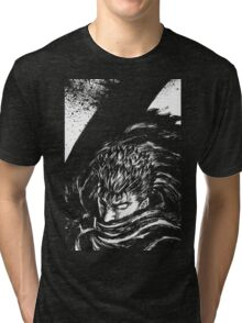 Black Swordsman Tri-blend T-Shirt