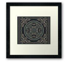 Celtic Mandala Framed Print