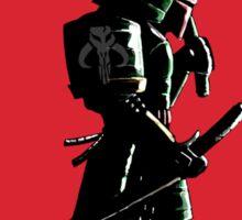 Bounty Hunter Samurai Sticker