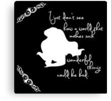 Disney Princesses: Ariel (The Little Mermaid) *White version* Canvas Print