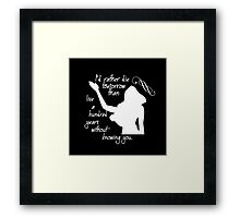 Disney Princesses: Pocahontas *White version* Framed Print