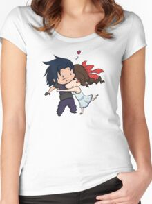 Surprise hugs! Women's Fitted Scoop T-Shirt