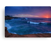 La Jolla Sunset 2 Canvas Print