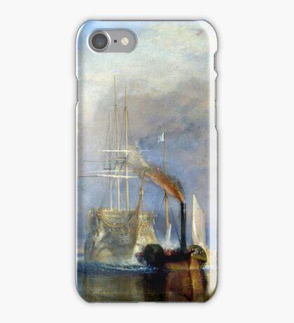 Le Dernier Voyage du Téméraire Turner iPhone Case/Skin