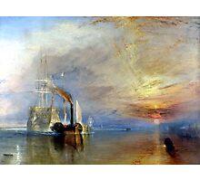 Le Dernier Voyage du Téméraire Turner Photographic Print