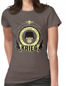 Pledge Eternal Service to Krieg - Limited Edition Womens Fitted T-Shirt
