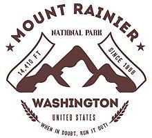 Mount Rainer Washington by leksele