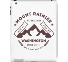 Mount Rainer Washington iPad Case/Skin