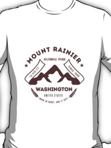 Mount Rainer Washington T-Shirt