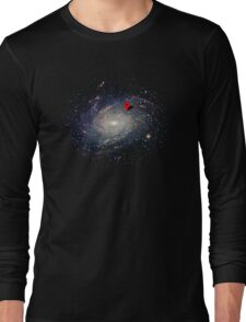 You are here - GPS Long Sleeve T-Shirt