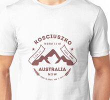 Mount Kosciuszko Australia Unisex T-Shirt