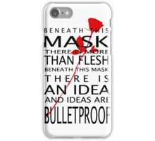 Bullet-Proof Ideas iPhone Case/Skin