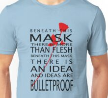 Bullet-Proof Ideas Unisex T-Shirt