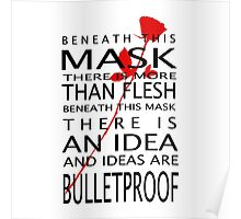 Bullet-Proof Ideas Poster