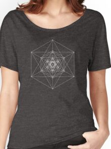 Metatron Cube Expanded Women's Relaxed Fit T-Shirt
