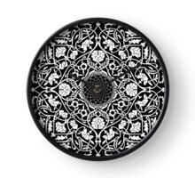 Indigo Home Medallion - White Clock