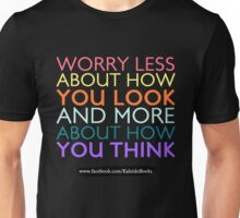 KALEIDO BOOKS AND GIFTS - WORRY LESS Unisex T-Shirt