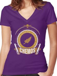 Pledge Eternal Service to Chemos - Limited Edition Women's Fitted V-Neck T-Shirt