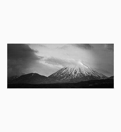 Mount Ruapehu New Zealand Photographic Print