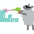 Ewe will be assimilated. by beckarahn