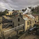 Steam Power at Sovereign Hill, 19th Century Ballarat by TonyCrehan