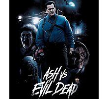 Ash vs Evil Dead Photographic Print