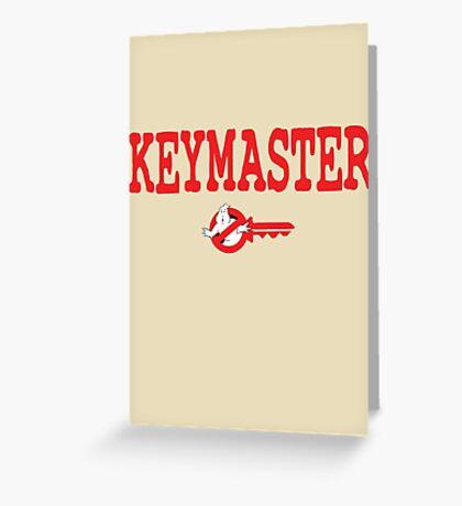 Keymaster Greeting Card