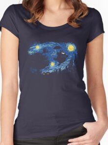 A Night for Spirits Women's Fitted Scoop T-Shirt