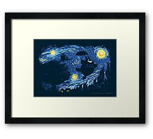 A Night for Spirits Framed Print
