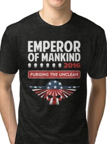 VOTE EMPEROR Tri-blend T-Shirt