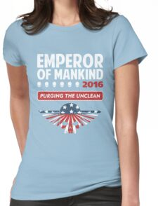 VOTE EMPEROR Womens Fitted T-Shirt