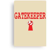 Gatekeeper Canvas Print