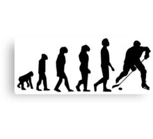 Hockey Evolution Canvas Print